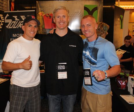 Brent Hess, Tim Lane and Dr. John Fitzgerald