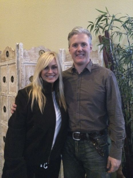 Catherine Hickland and Dr. John Fitzgerald