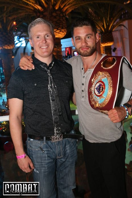 Chris Algieri and Dr. John Fitzgerald