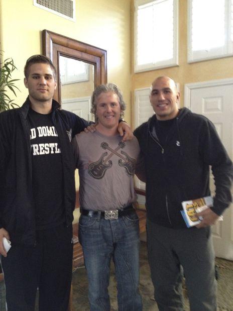 Matt Van Buren, Brandon Vera and Dr. John Fitzgerald